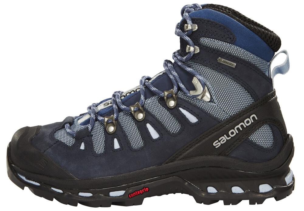 Salomon Quest 4D 2 GTX Hiking Shoes Women Deep Blue/Stone Blue/Light Onix 37 1/3 2017 Trekking- & Wanderschuhe Us3NcYjTEe
